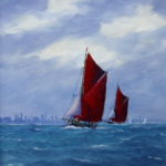 On the Thames, oil
