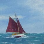 Great Sailing Day, oil